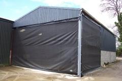 windbreaker for sheds