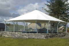 Canopy at Caherconnel-Stone-Fort