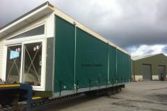 Mobile home side panel