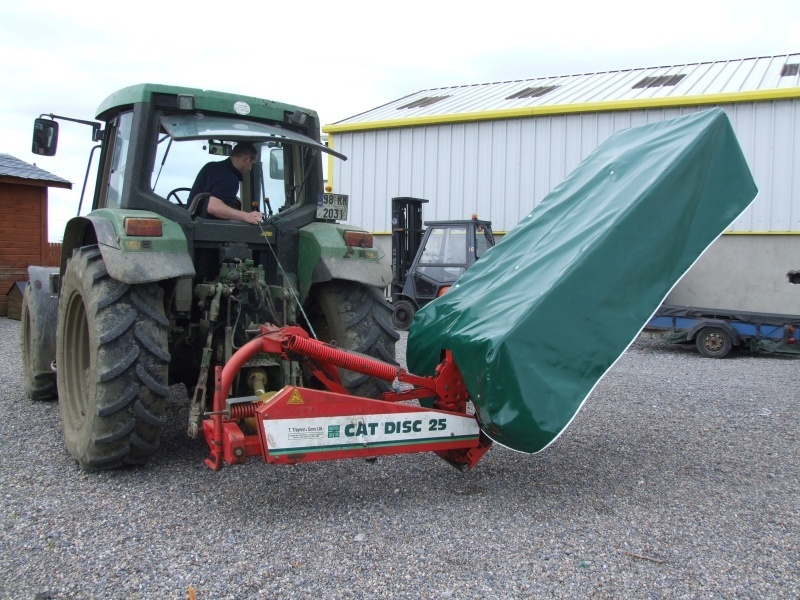 Mower Cover.