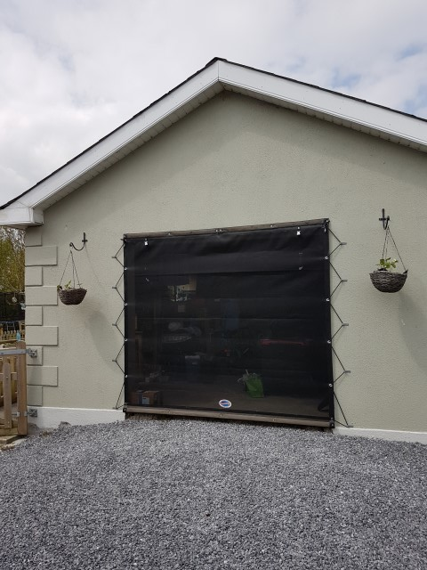 Garage Screen Door!